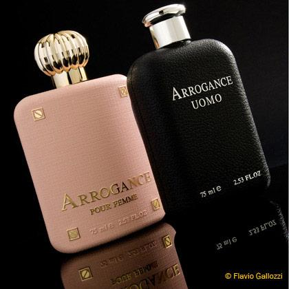 Arrogance perfume advertising. Flavio Gallozzi photographer Milano