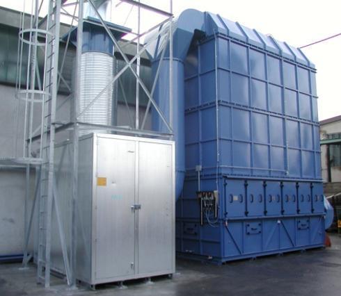 Impianti per la depurazione dell'aria