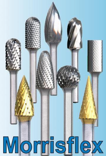 Предлагаем высокоточные шлифованные твердосплавные борфрезы Morrisflex различных типоразмеров и форм со склада в Москве. Оптимальное соотношение цены и наивысшего качества премиального инструмента.
