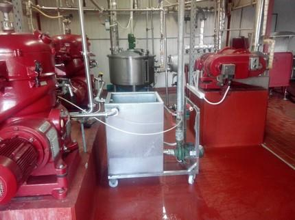 Animal fats processing line by westfalia separators