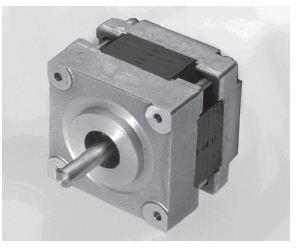 Stepping Motors: MICROSTEP Serie SHS 39/400 – 0100 Step Angle: 0,9° Number of Phases: 2 Motor Size: 39 mm Motor Length: 26 mm