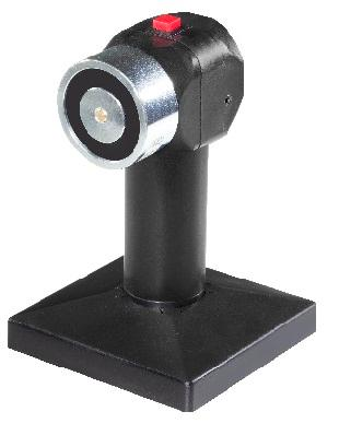 Supplied with adjustable keeper plate S01, holding force 50kgs or 100 kgs, 24Vdc standard. Available different supply voltage, AC supply voltage. Optional tube, 30050_061, to modify height and lenght.