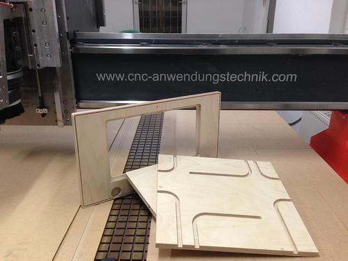 CNC Fräsen Multiplex