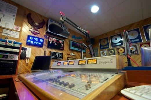 Studio radio station