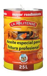 Excelente combinación de aceites de origen vegetal compuesto por: Aceite Refinado de Girasol Alto Oleico (40%), oleína de Palma (40%) y Aceite Refinado de Girasol (20%).