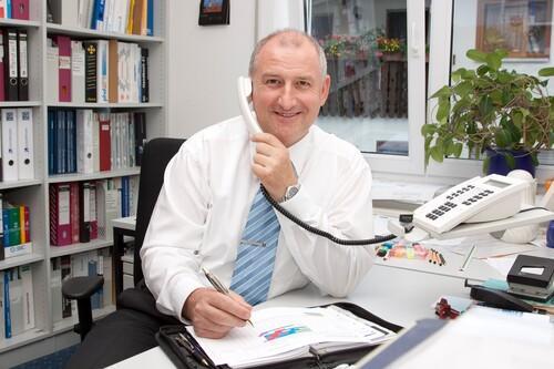Geschäftsführer Martin Wahl