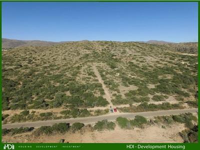 El terreno que compramos visto del frente.Es un terreno que esta subiendo.Mayor detalle en http://www.hdisouthamerica.com/es/multimedia/planos