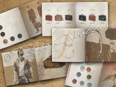 Studio e progettazione di cataloghi, brochure, materiale intestato su vari supporti e materiali