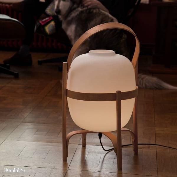 Table Lamp: Cesta of Santa Cole
