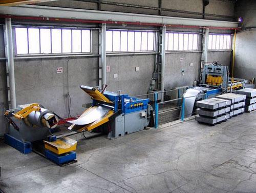 UNIMAK Machinery Cut-to-Length Line