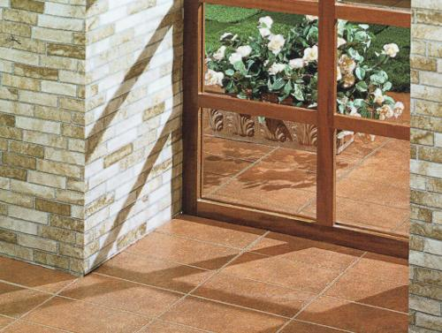 High Quality Porcelain Tiles for indoor applications reproducing the shades of terracotta available in size 15x30cm.