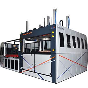 THERMOFORMING MACHINES WITH SHEET LOADER