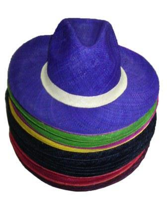 Panama from Madagascar, made with raffia fiber, handmade, exist in different colour.
