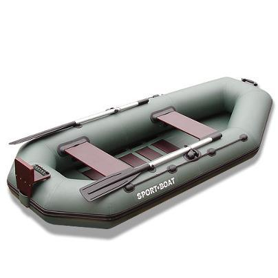 Rowing boats with transom for motor