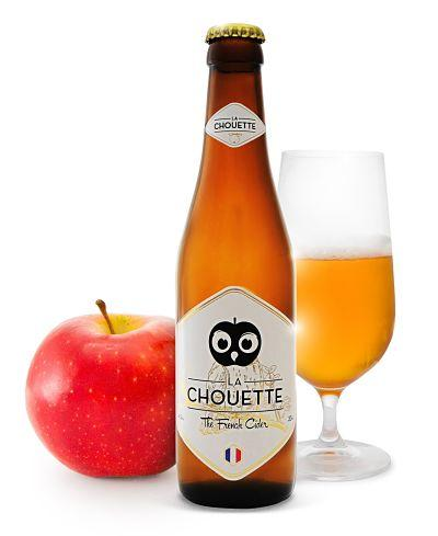 La Chouette is a French high-end apple cider: it is a pure apple juice cider, excluisvely made from cider apples from Normandy.
