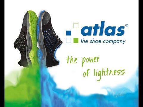 Atlas schoenen. The Power of Lightness: lichte schoenen, die toch extreem duurzaam zijn.