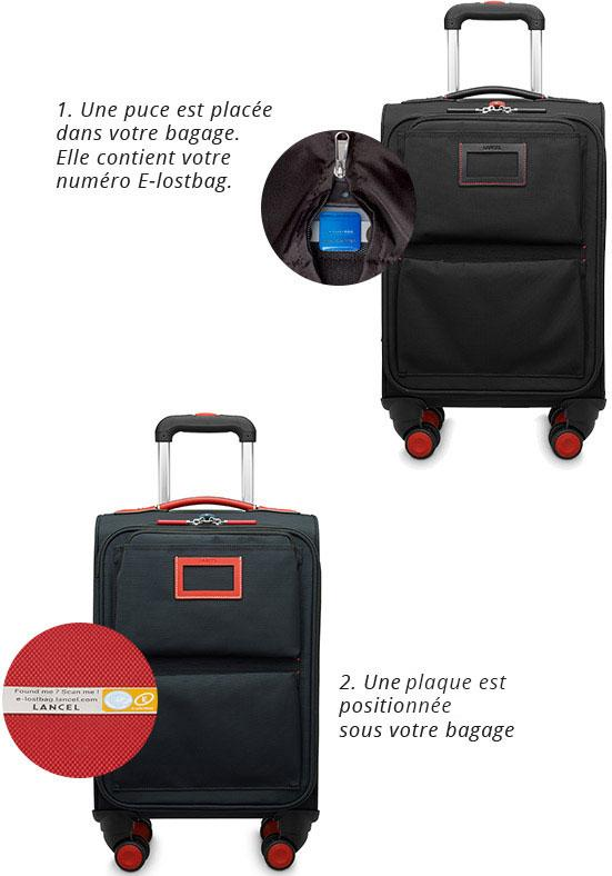 New Luggage Explorer Lancel BY