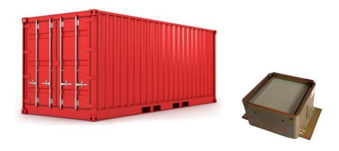 TICK L - Container tracker
