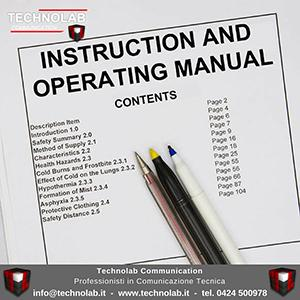 Technolab Communication è specialista in redazione di manuali d'istruzioni, d'uso e manutenzione, redazione e gestione di cataloghi per parti di ricambio, realizzazione di immagini e disegni tecnici