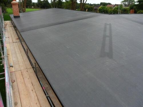 Large flat roof in Newcastle