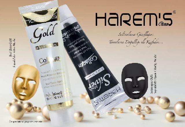 Harem's Gold & Silver Mask