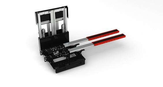 Telescopic Forks for Industrial Trucks