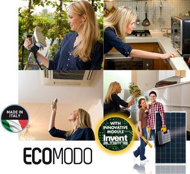 "The first PV system ""do it yourself"". Simple, cheap and quick, you'll have all the electricity you need during the day. Easy to install thank to the innovative Module Invent Alterna"
