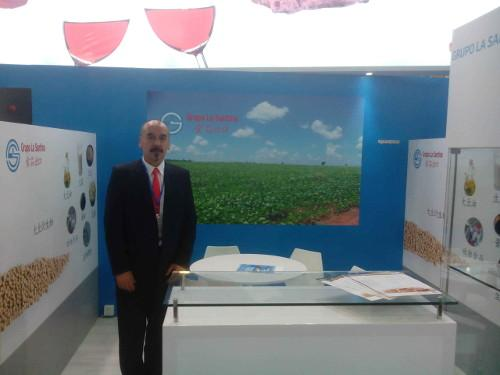 We were at the international fair of feeding SIAL CHINA 2014, the International Exhibition of Shanghai.