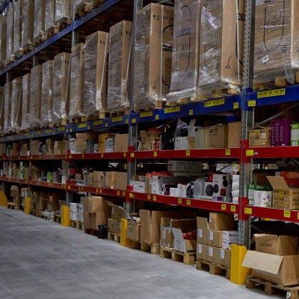Fine-meshed storage