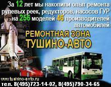 Тушино-Авто, Диагностика, Ремонт, регулировка, рулевой рейки, гидроусилителя руля, электроусилителя руля (ЭУР), насоса, гур, рулевого редуктора, механизма, подвески, АКПП, www.tushino-avto.ru