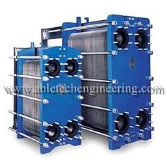 THE HEAT EXCHANGERS ARE USED FOR INDUSTRIAL ENGINE OIL COOLING PURPOSE.