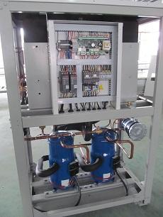 80kW heat pump for heating and cooling