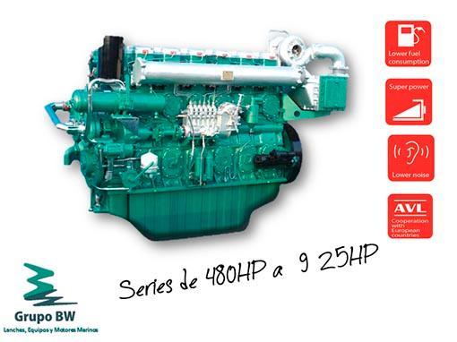 Línea de motores marinos diésel, la cual ahorra un 30% en consumo de combustible en comparación con otros motores de la misma categoría en las mismas faenas;