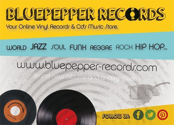 Disques vinyles de musiques indépendantes.