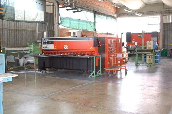 Metal working area