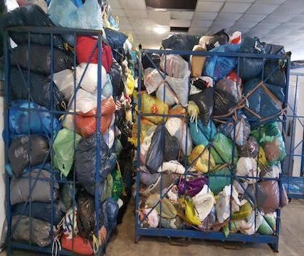 Altkleider, gebrauchte Kleider, gebrauchte Textilien, used clothes, used clothing, second hand