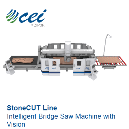 Intelligent Bridge Saw Machine with Vision