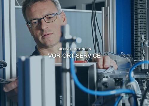 VOR-ORT-SERVICE, KNOW-HOW VOR ORT