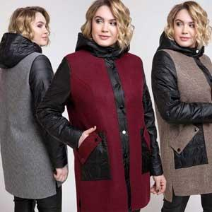 large size women's coat