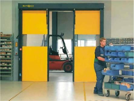 The world's fastest industrial door, An opening speed of up to 5 m/s and a closing speed of up to 2,5 m/s makes the new NOVOSPRINT a reliable solution for faster and safer transportation.