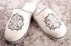 Felt slippers 100% sheep wool