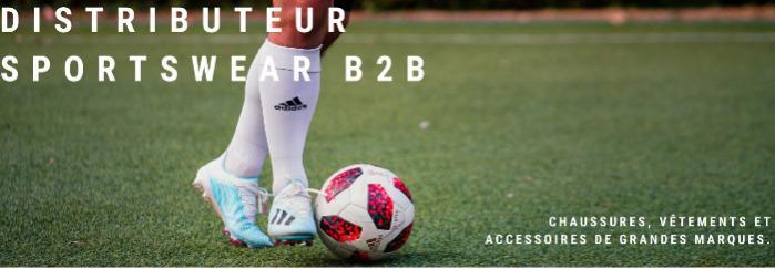 Distributeur sportswear BtoB