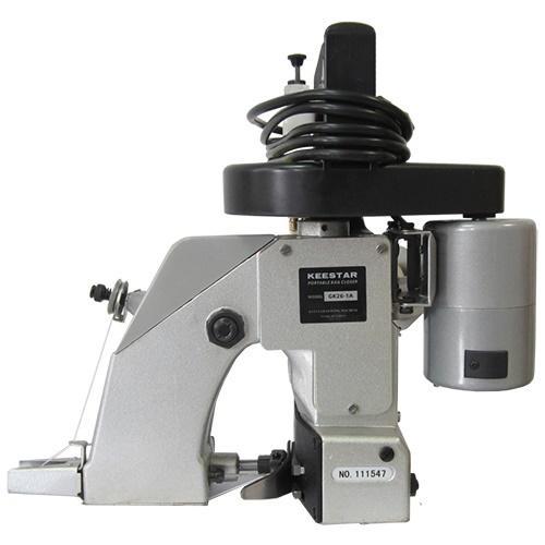 Bag closing sewing machine