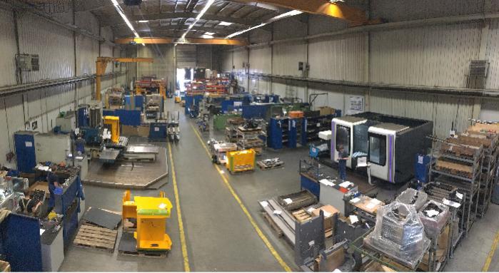Production hall