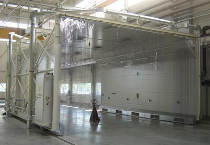 Fahrbare Absaug- und Schleifkabine von LET Meschede GmbH