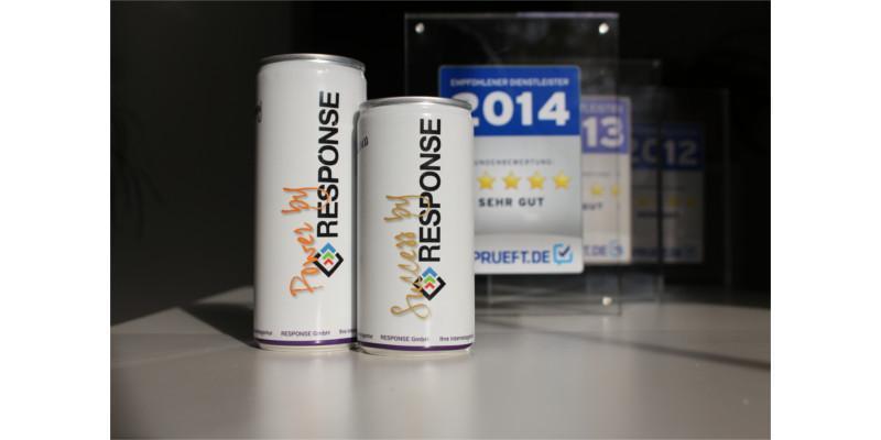 Die Internetagentur RESPONSE GmbH trägt einige Auszeichnungen.