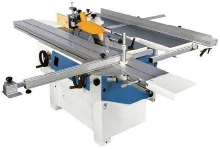 N° 3 motors Kw (Hp) 5 (6,6) 3-knives shaft Ø mm 72 Overall dimensions of the surfacing tables mm 1800X410 Overall dimensions of the thickness table mm 410×605 Working height min / max mm 3/230