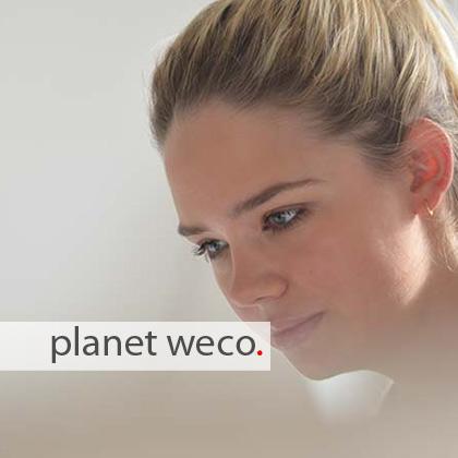 planet weco ist stark in Online-Medien und Social Media.