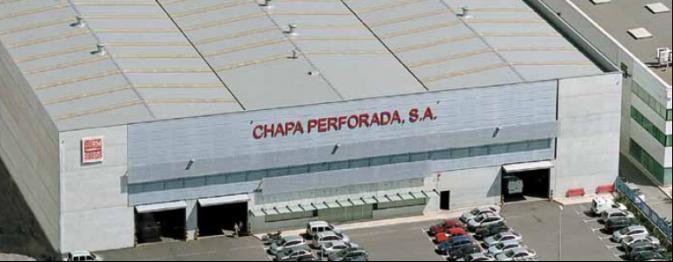 Fábrica Chapa Perforada