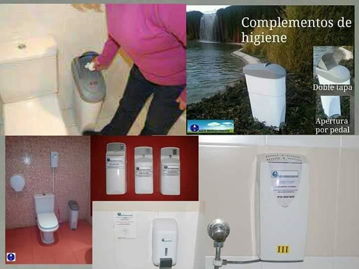 Todo tipo de complementos higiénicos y sanitarios